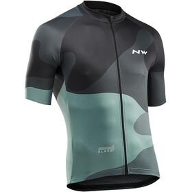 Northwave Blade 4 Bike Jersey Shortsleeve Men green/black